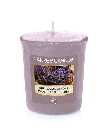 Dried Lavender & Oak (Votiva)