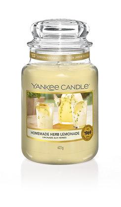 Homemade Herb Lemonade (Candela in giara grande)