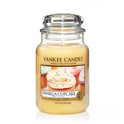 Vanilla Cupcake (Candela in giara grande)