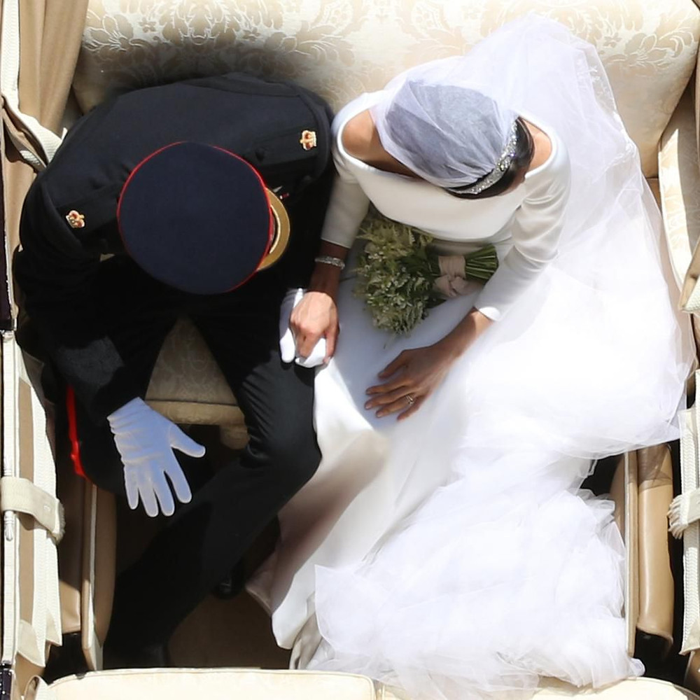 Probably my favorite photo from Harry and Meghan's wedding.