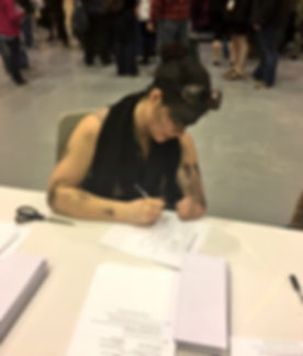 Furiosa Cosplay writing letter.png