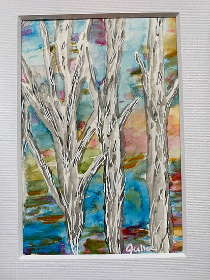 Colorful Birch