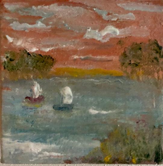 Sunset & Sailboats 21