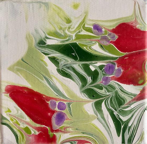 Vibrant Acrylic Pour 13