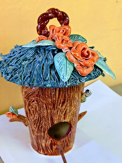 ake Country Fine Art School & Gallery – Create a Clay Birdhouse with Marlene M