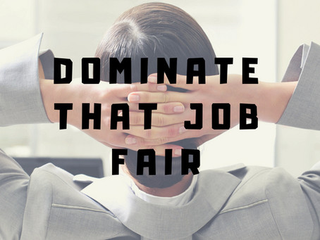How to Prepare for the Next Job Fair