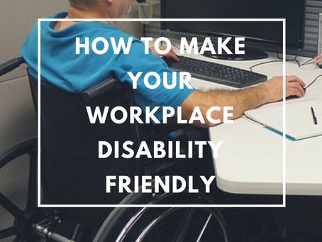4 Easy Ways To Make Your Workplace Disability Friendly