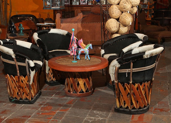 Sala Bar Vaquero pelo B&W