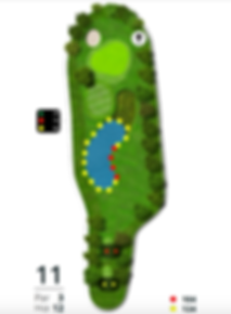 Åskov Golfklub - Hul 11