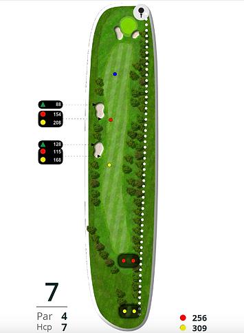 Åskov Golfklub - Hul 7
