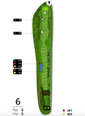Åskov Golfklub - Hul 6