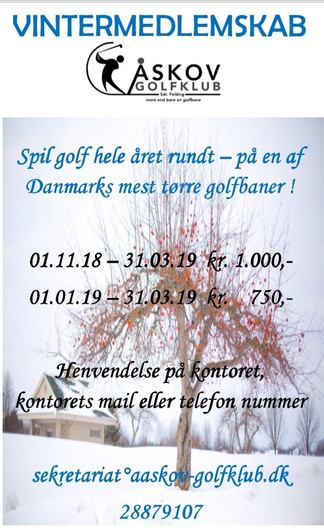 Vintermedlemskab 2018/2019