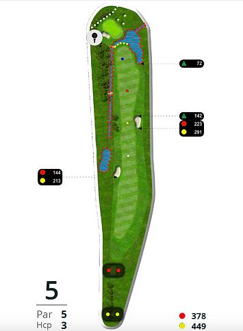 Åskov Golfklub - Hul 5