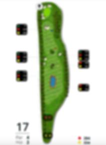 Åskov Golfklub - Hul 17