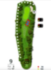Åskov Golfklub - Hul 9