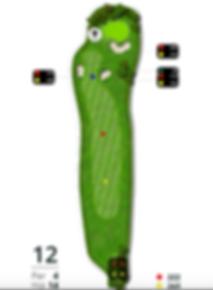 Åskov Golfklub - Hul 12