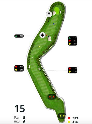 Åskov Golfklub - Hul 15