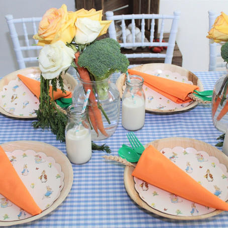 Happy Easter: An Elegant Country-Style Design