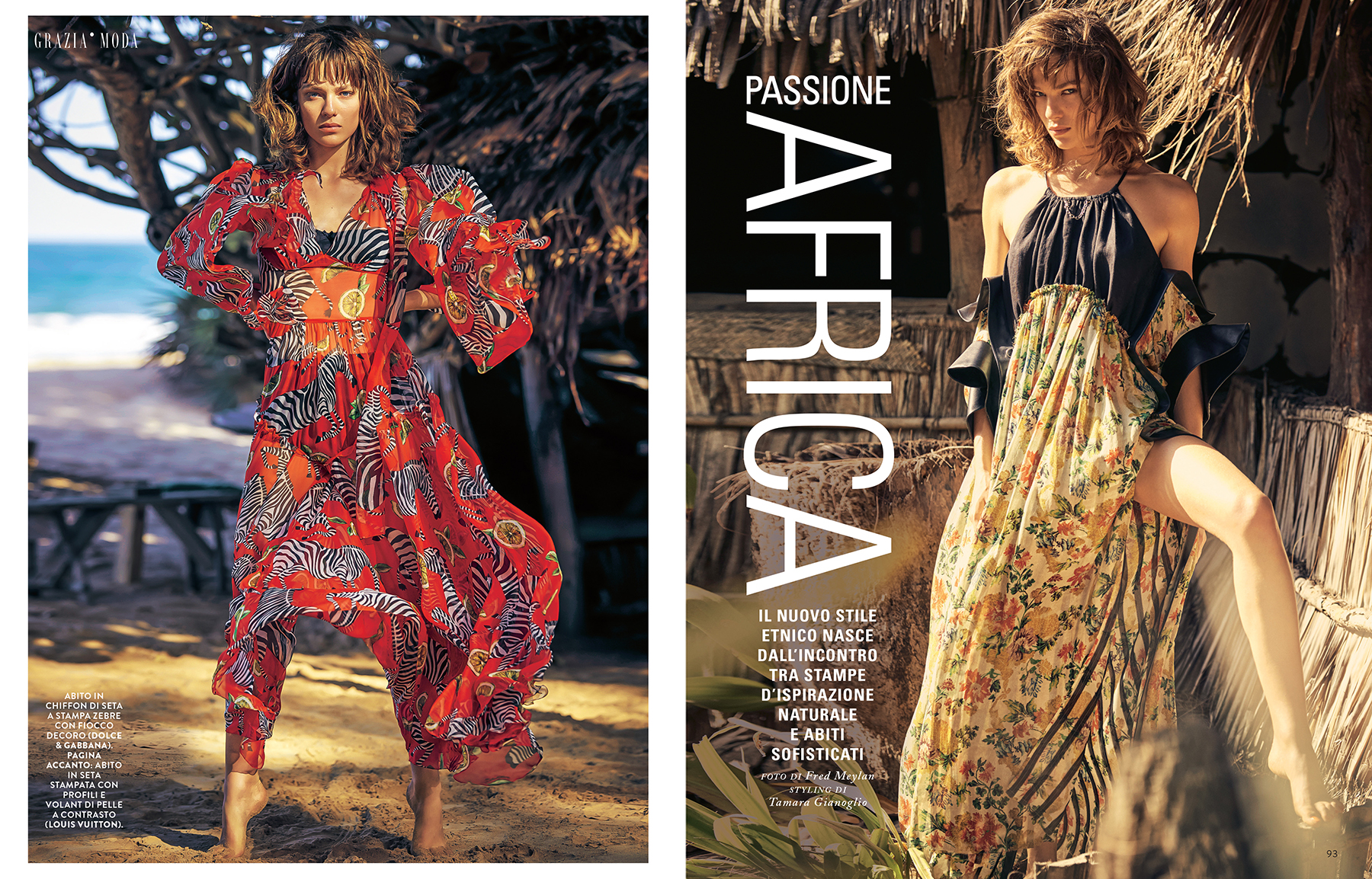 """Grazia Italia - """"Passione Africa"""""""