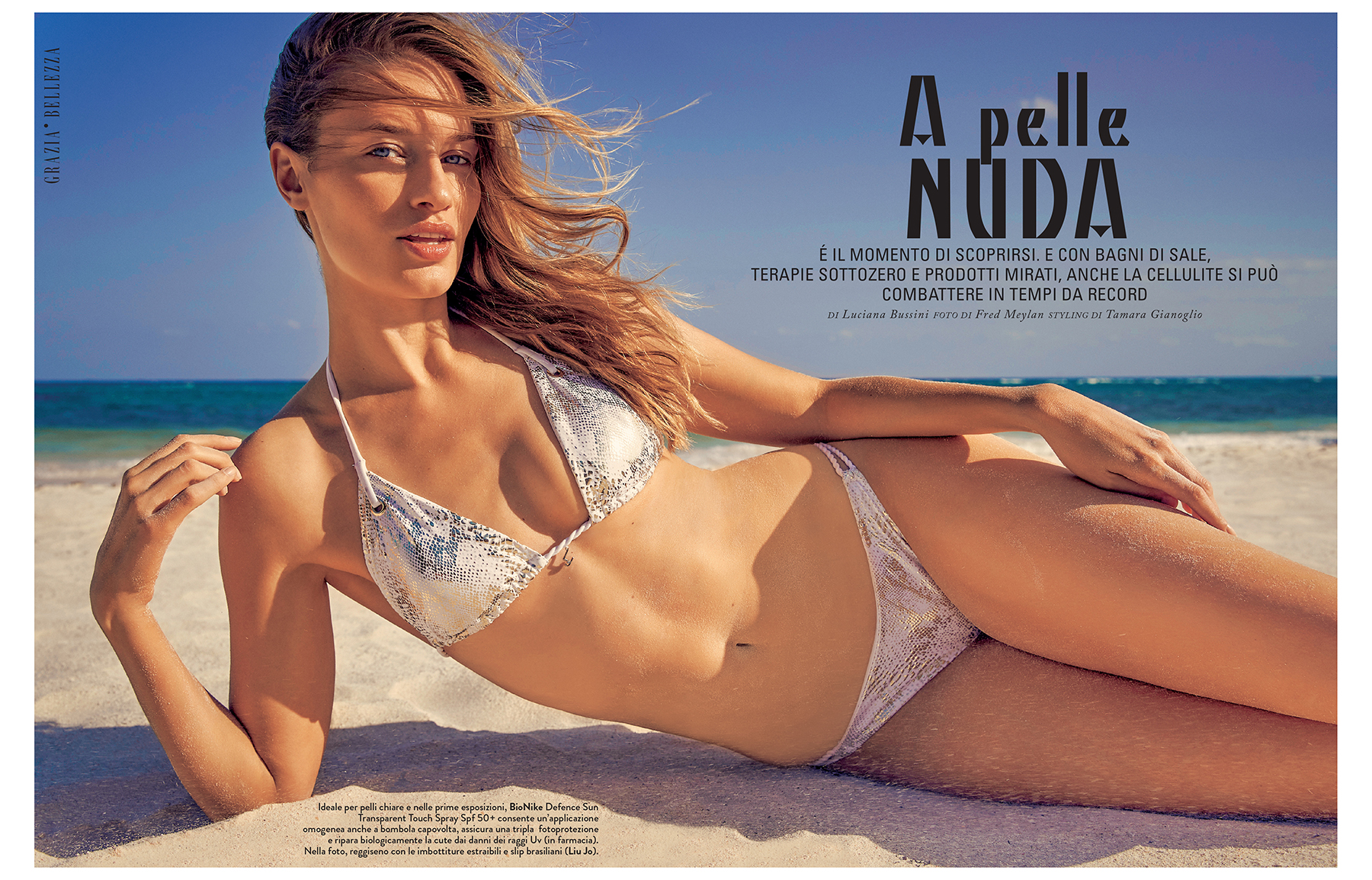 """Grazia Italia - """"Beauty"""" special"""
