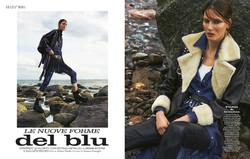 """Grazia Italia - """"Le Nuove Forme Del Blu"""""""