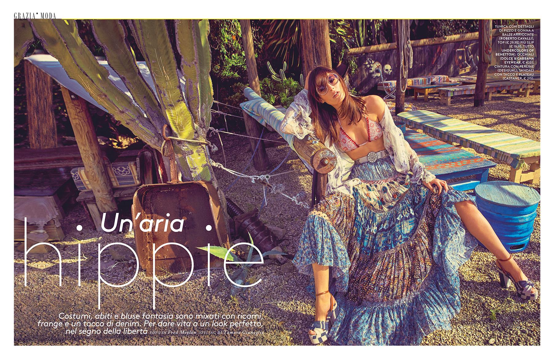 """Grazia Italia - """"Un'aria Hippie"""""""