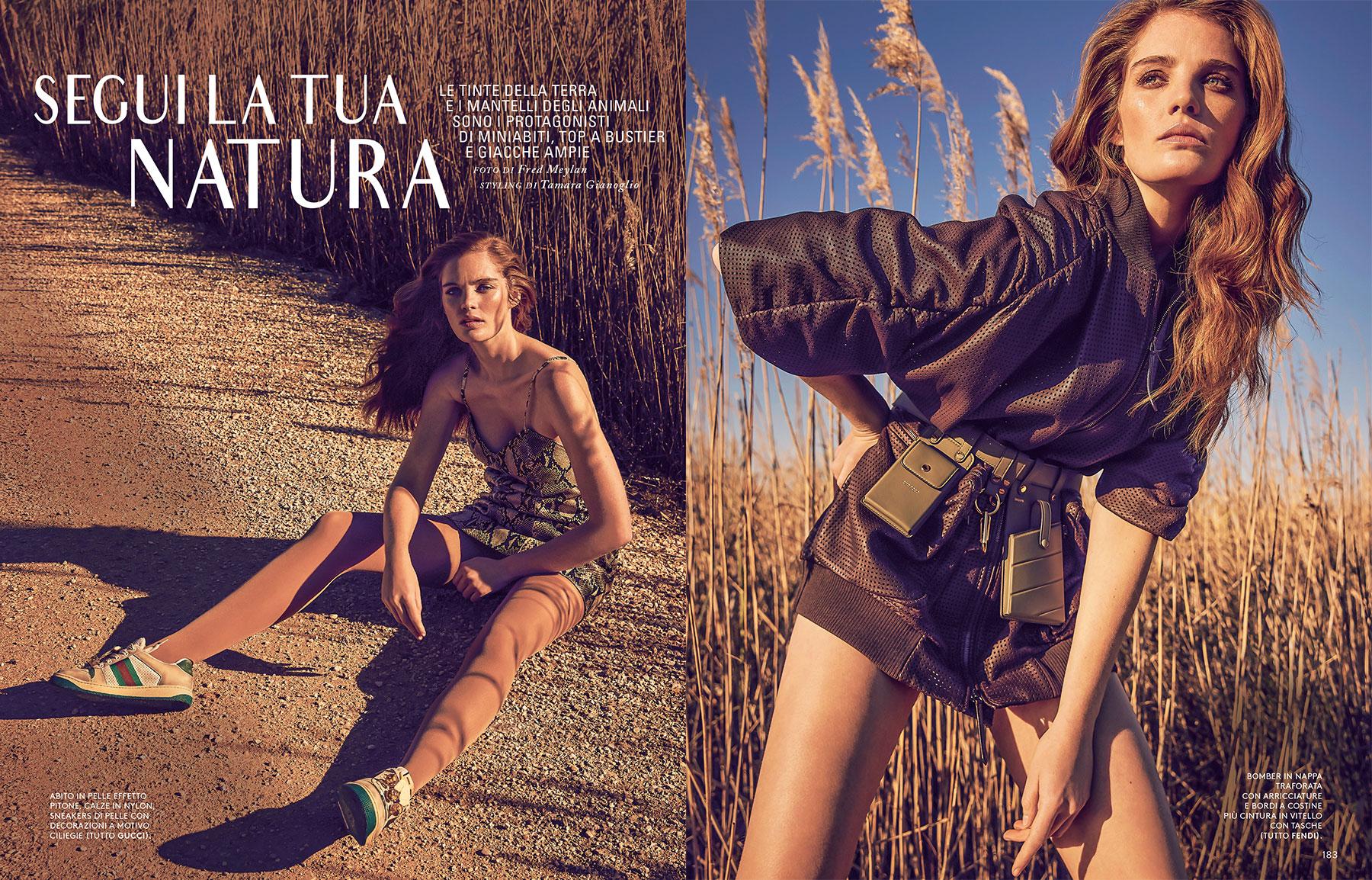 """Grazia Italia - """"Segui La Tua Natura"""""""