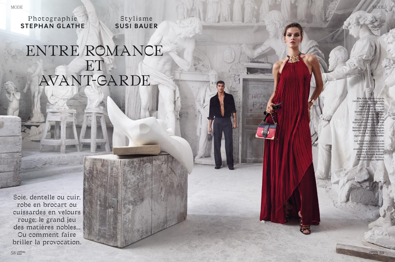 """L'OfficielSuisse -""""Entre Romance Et Avant-Garde"""""""