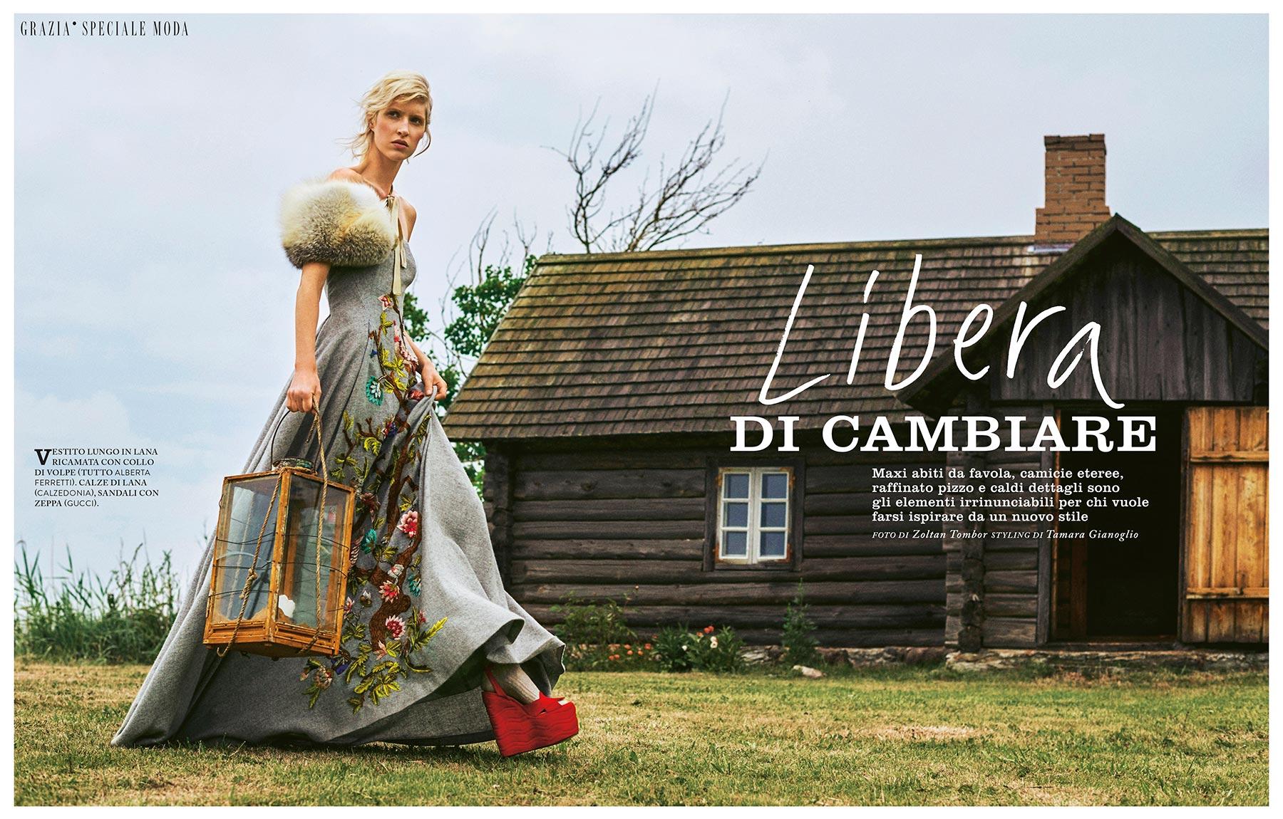 """Grazia Italia - """"Libera Di Cambiare"""""""