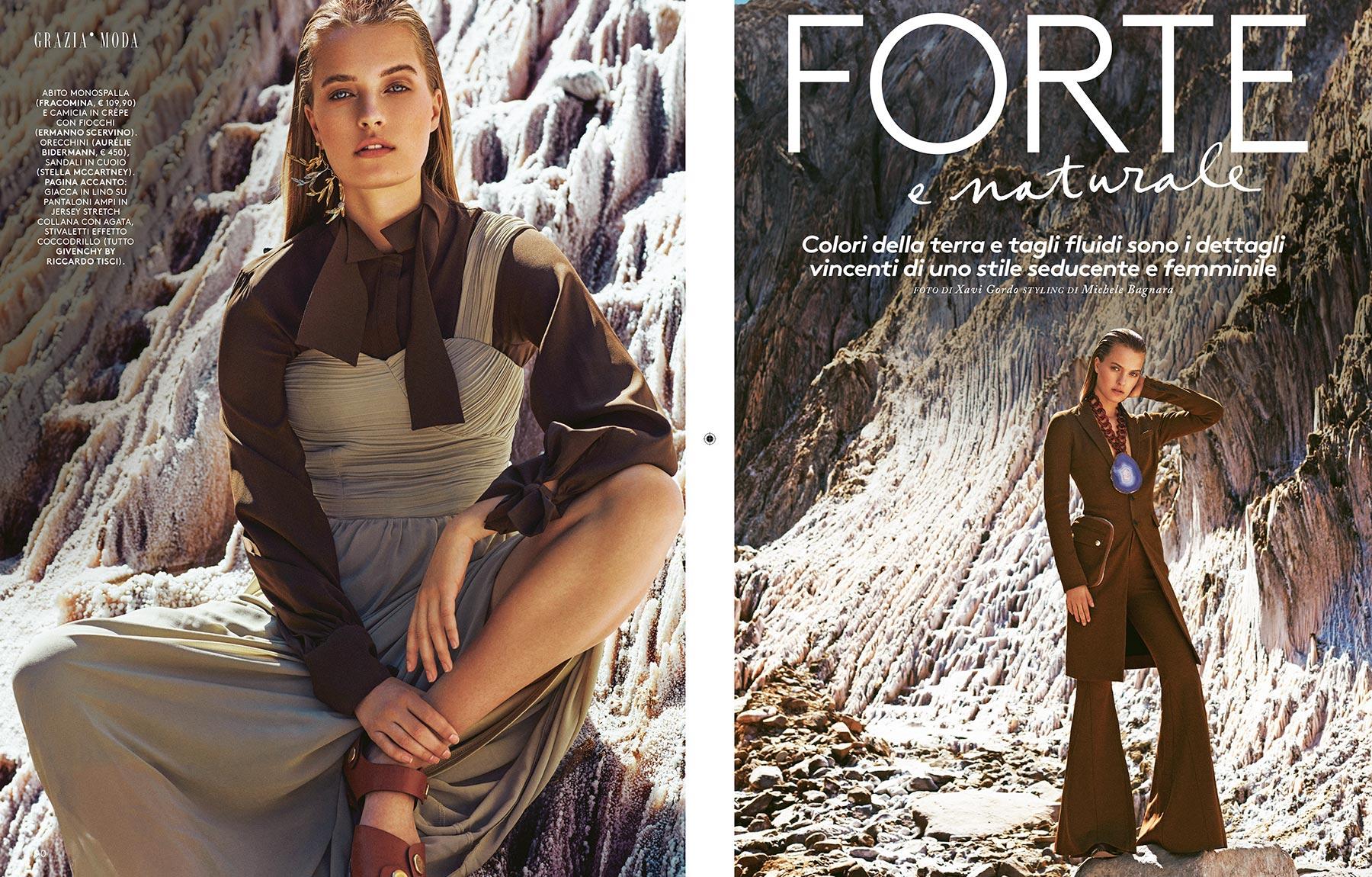 """Grazia Italia - """"Forte e Naturale"""""""