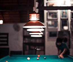 Billiards Table in basement remodeling in Staffod Virginia