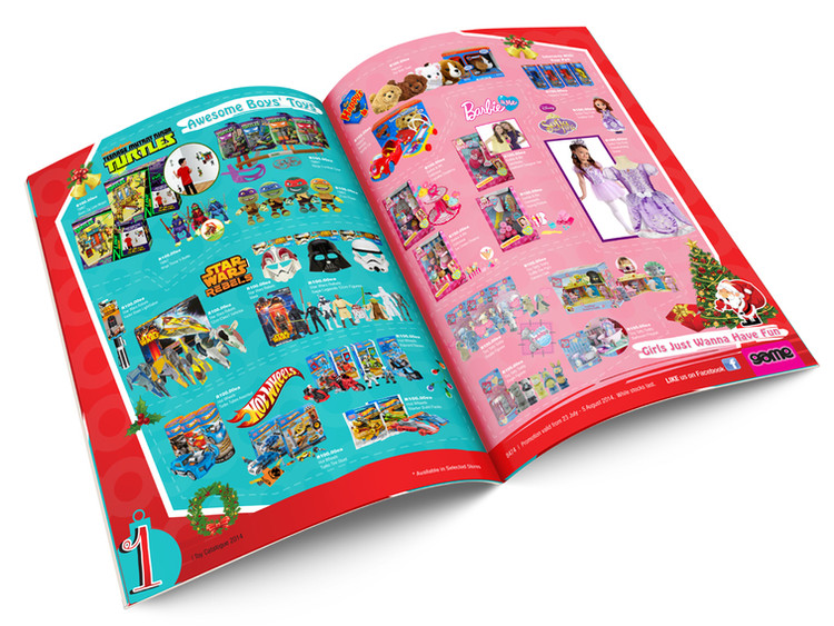 Game Stores Christmas Catalog