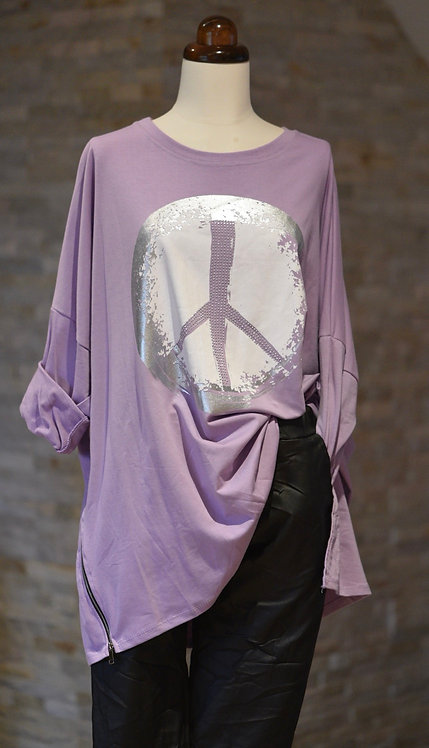 Keep the Peace oversized top