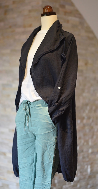 Audrina long line jacket