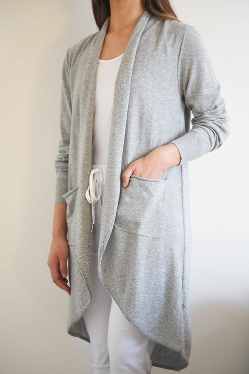 Aggy Cardi - Grey Marle