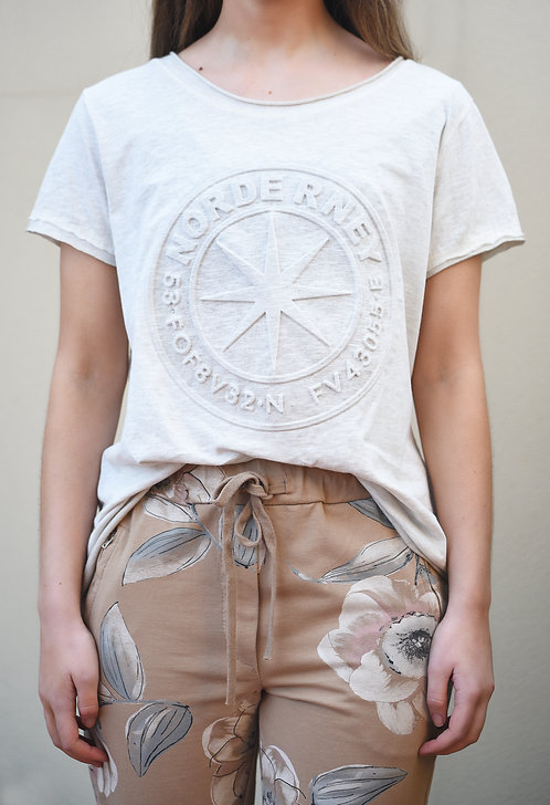 Wanderlust T-Shirt - Stone