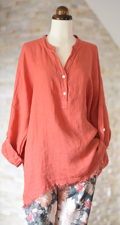 Vanya linen shirt