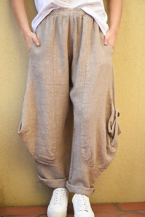 Sibella Pants - Natural