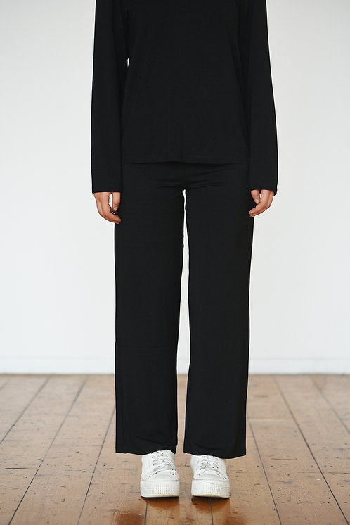 Relaxed Fit Pant - Black