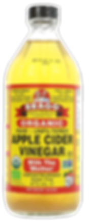 """Braggs Organic Raw Unfiltered Apple Cider vinegar, with """"mother"""" as a gout cure, lowering uric acid"""
