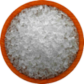 Epsom Salt Crystals for preparing foot baths to improve circulation in feet for gout patients