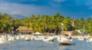 Puerto escondido playa principal or main bay