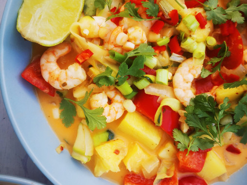 Sweet and Sour Thai style curry