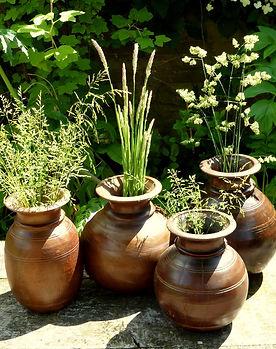 Wooden Water Pots