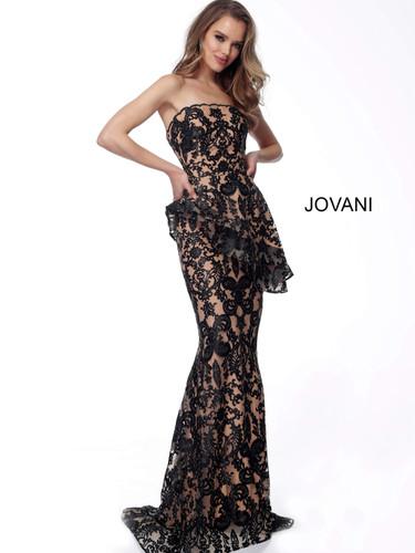 Jovani Black/Nude