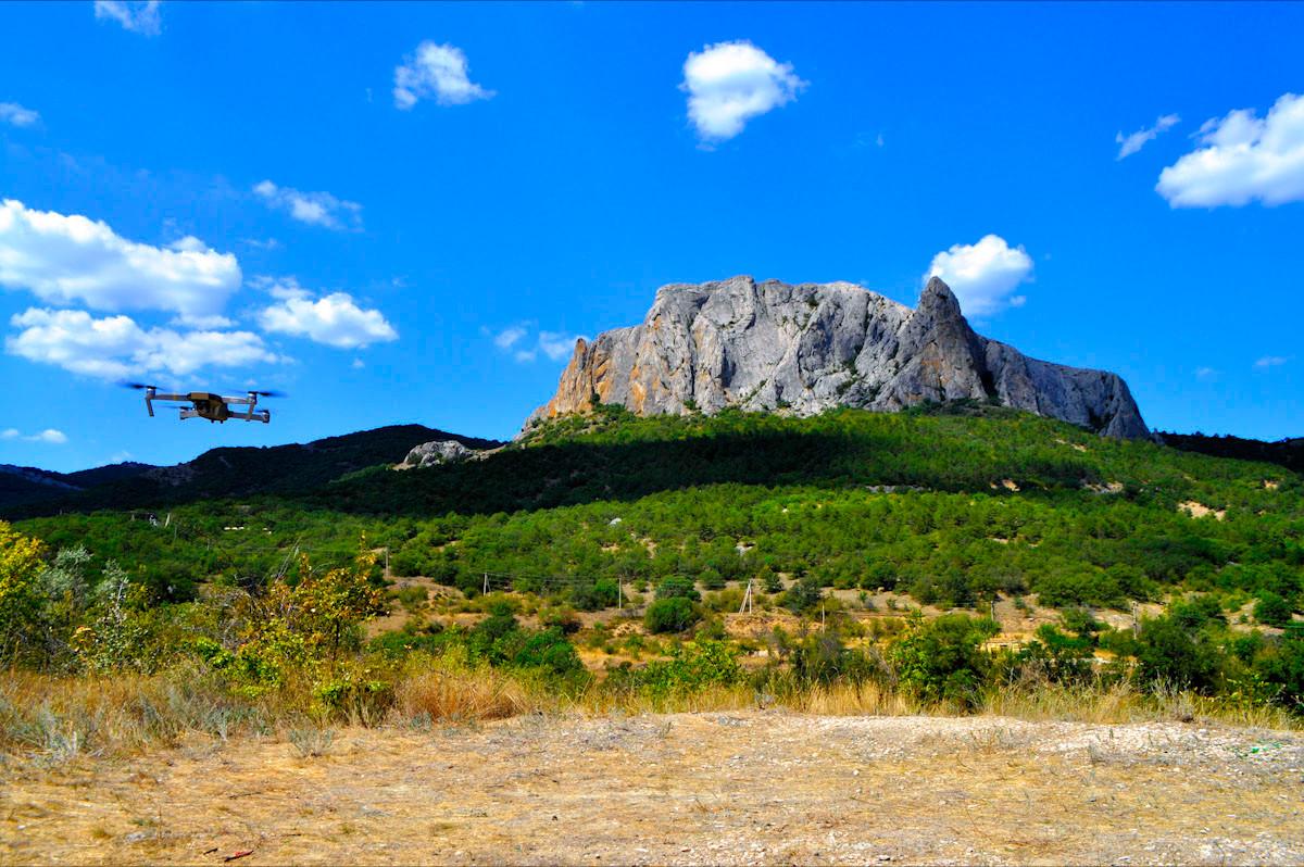 mountain-drone