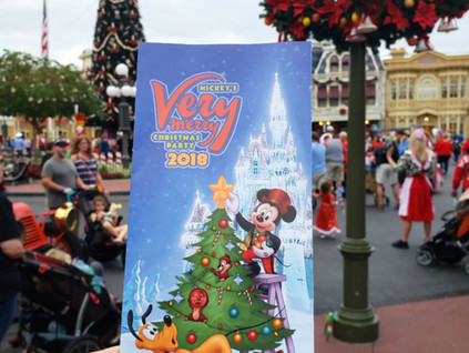 La navidad al estilo Disney: Mickey's Very Merry Christmas Party