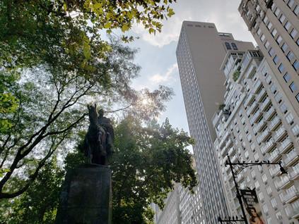La ruta de Bolívar en Nueva York