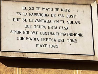 Tras los pasos del joven Bolívar en Madrid