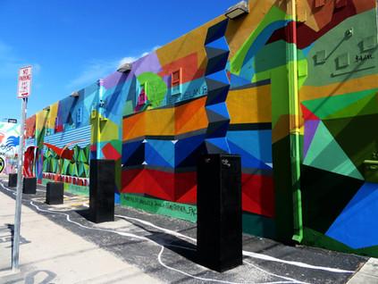 Street art con mucho sol: Wynwood Arts Distric de Miami